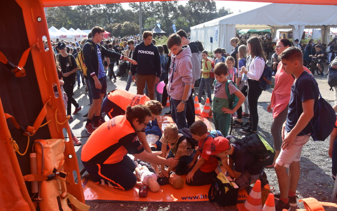 Festival vědy sLife RESCUE
