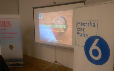 Life RESCUE a MČ Praha 6 pečují o seniory