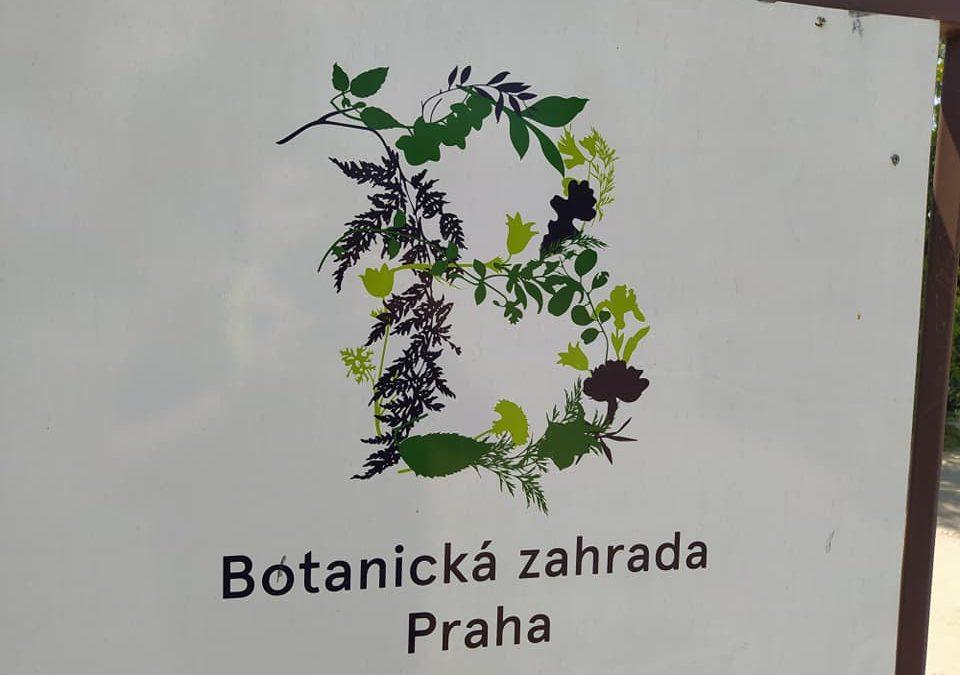 Spolupráce sBotanickou zahradou vTróji