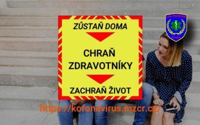 Klip podporující prevenci proti Koronaviru