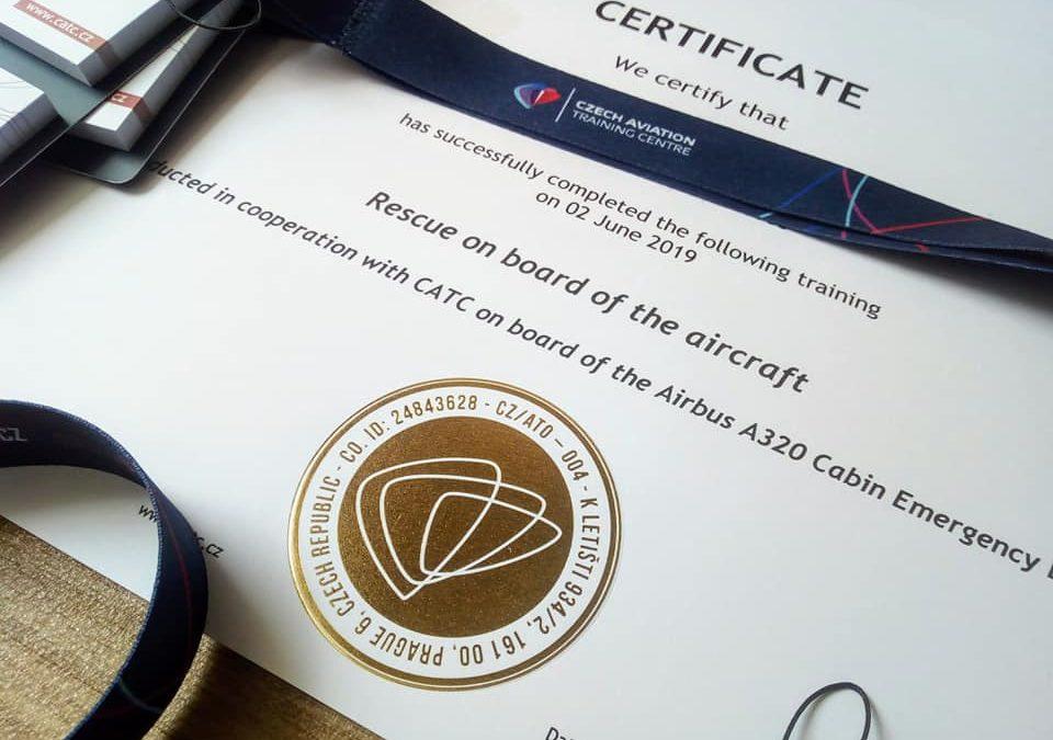 Certifikáty o absolvování kurzu