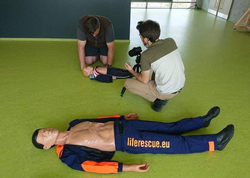 Instruktážní video resuscitace pro FDL