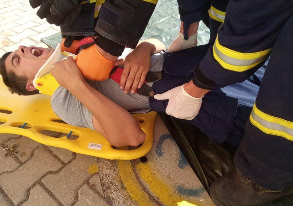 Školení dobrovolných hasičů