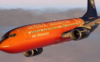 Boeing 737 vbarvách LR-zP