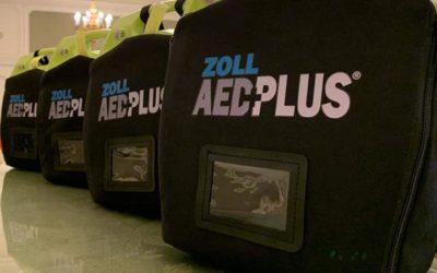 AED vprostorách Senátu ČR