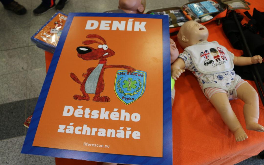 Deník Dětského záchranáře pomůže hospitalizovaným dětem