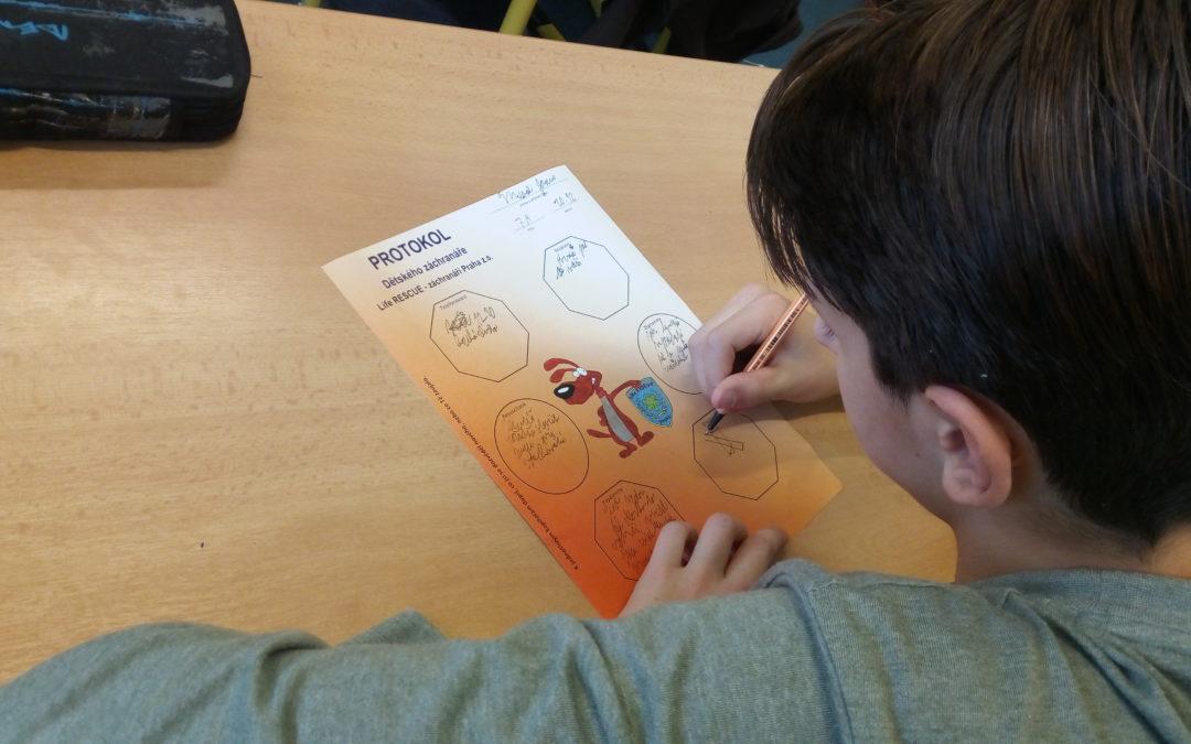 Projektový Den Dětského záchranáře vnovém