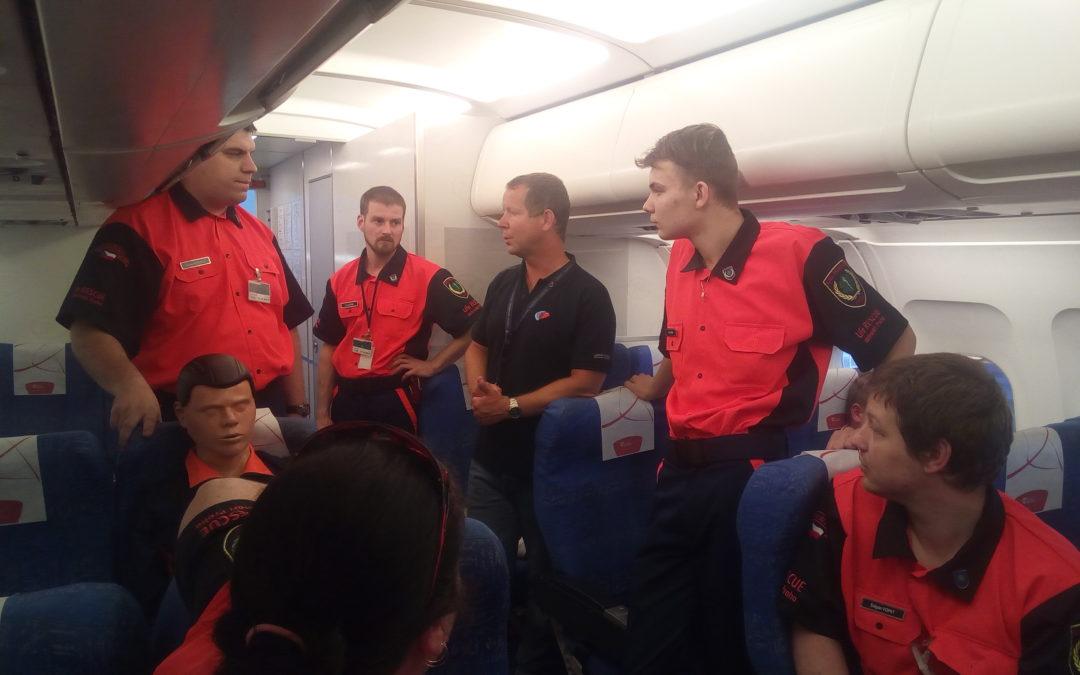 Záchrana na palubě letadel