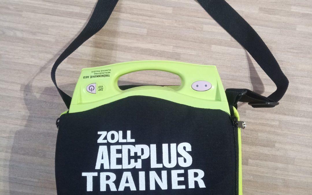 Do naší rodiny přibylo další AED